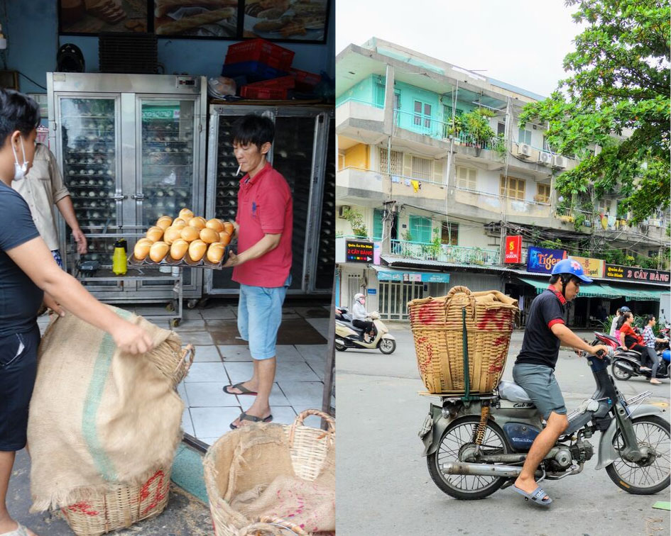 Bánh mi with Jodi in Vietnam