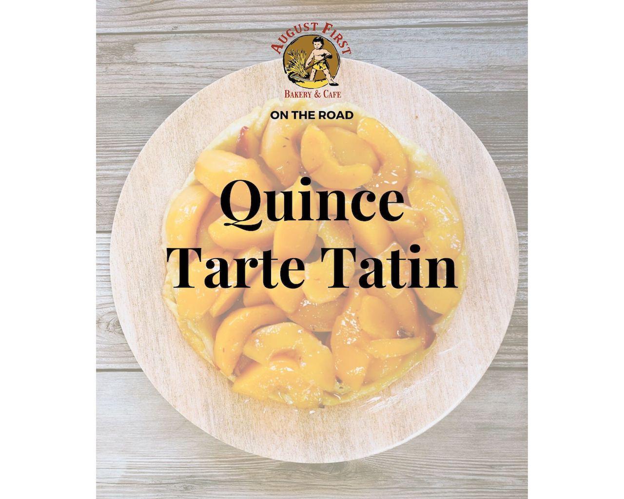 quince tarte tatin