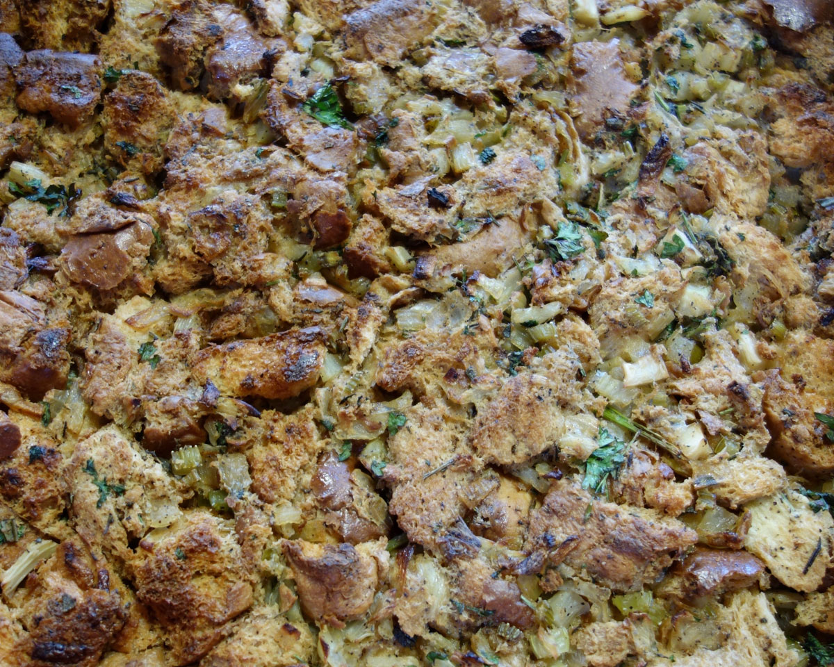 How to make better stuffing for Thanksgiving