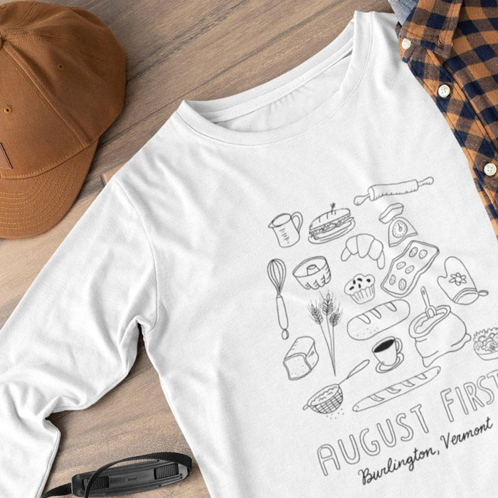 August First Tee Shirts